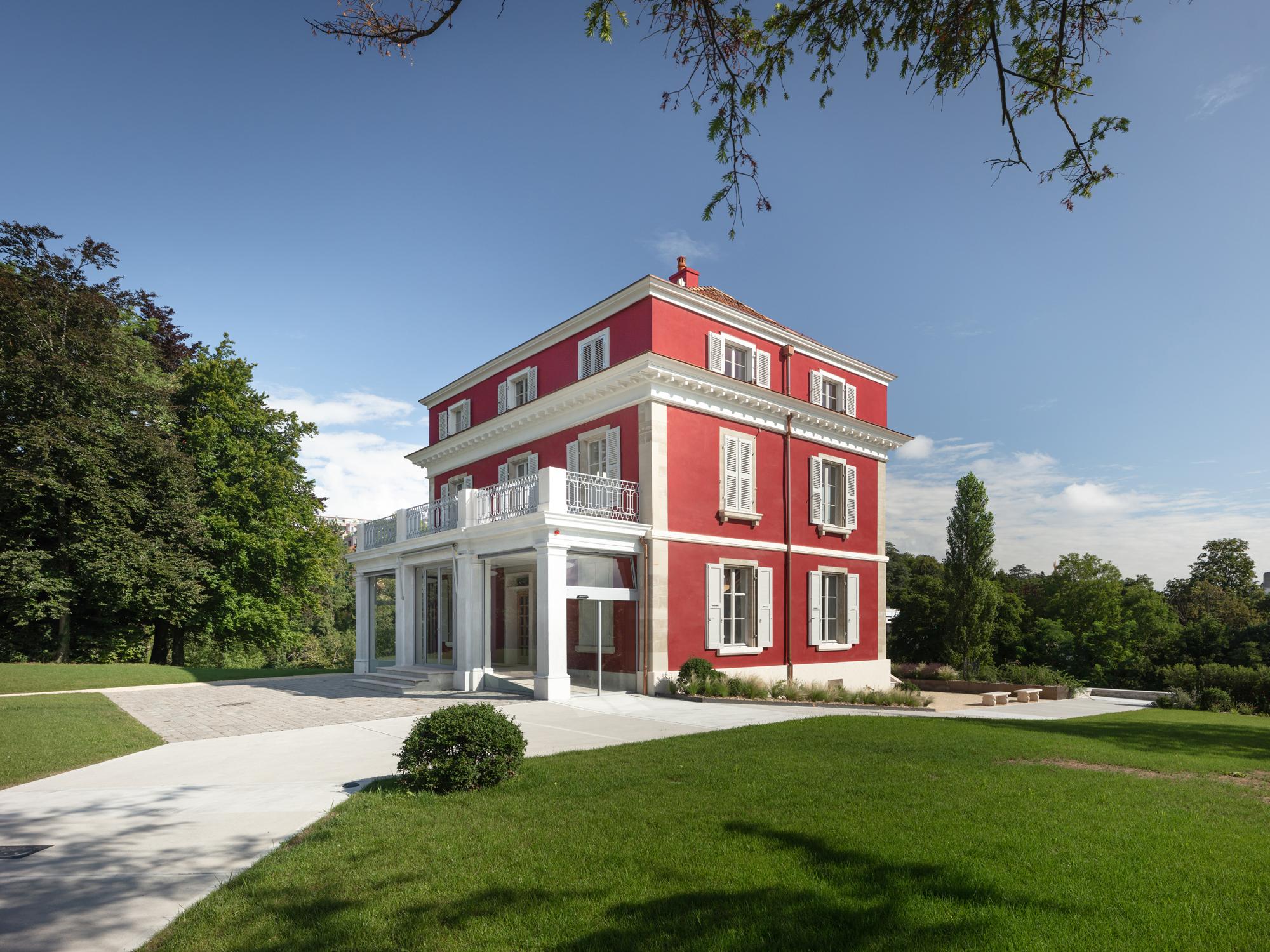 Villa Bernasconi, photo Dylan Perrenoud